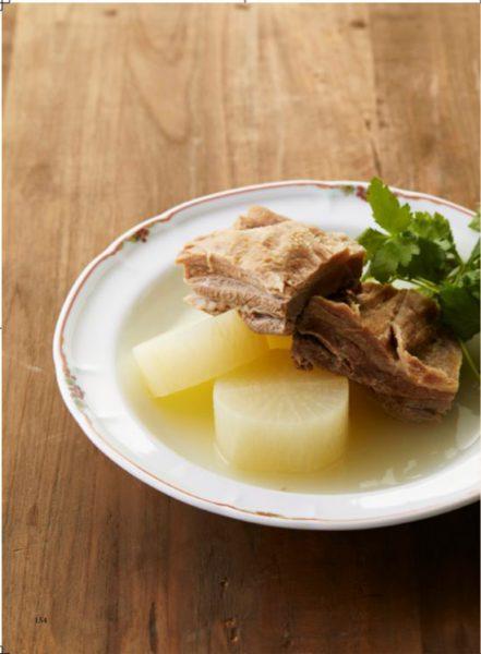 猪バラ肉と大根の煮込み【和風】